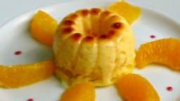 Gâteau de semoule à l'orange