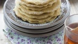 Pancakes multigrains aux myrtilles sans lactose