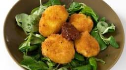 Mozzarella panée