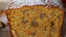 Carrot Cake aux noix et gingembre confit