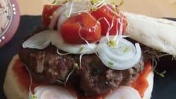 Hamburger à l'oriental