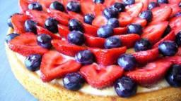 Tarte fraise myrtille