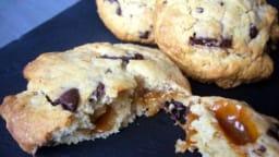 Cookies chocolat caramel