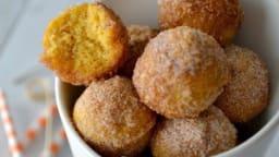 Donut holes au potimarron et aux épices