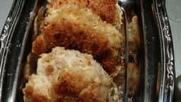 Croquettes de poulet et coco