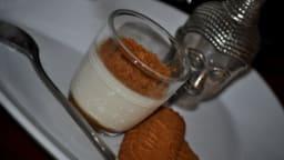 panna cotta caramel au beurre salé speculoos