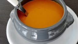 Velouté de lentille corail au curry