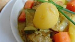 Mijoté de poulet au curry