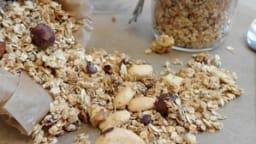 Granola maison aux pépites de chocolat