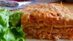 Lasagnes au thon et à la ricotta