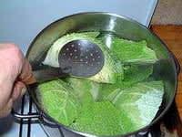 Chartreuse de poule faisane : la mise en place - Etape 4