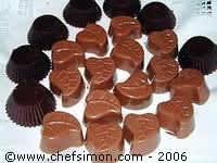 Moulage des chocolats fourrés - Etape 10