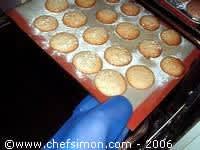Macarons de Marguerite - Etape 10
