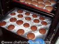 Macarons de Marguerite - Etape 11