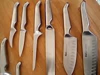 Couteaux de cuisine - Etape 1