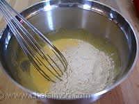Crème mousseline - Etape 3