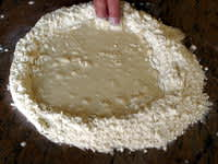 Pâte feuilletée à 6 tours - Etape 2