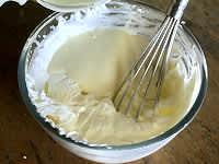 Mousse au chocolat blanc - Etape 6