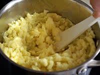 Purée de pommes de terre - Etape 3