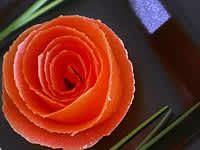 Roses en peaux de tomates - Etape 9