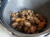 Sauter du foie gras en dés - Etape 4