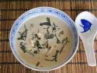 Soupe de poulet au lait de coco - Etape 9
