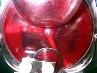 Sorbet framboise - Etape 5