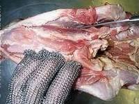 Tête de veau pochée - Etape 8