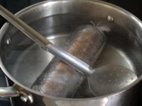 Ballotine de foie gras nature - Etape 9