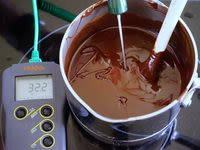 Tablage du chocolat noir - Etape 7