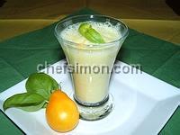Gaspacho tomates concombre et basilic - Etape 7