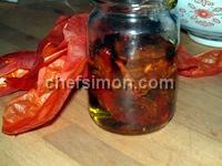 Tomates séchées - Etape 12