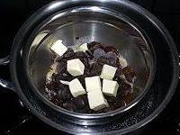 Mousse chocolat noir - Etape 1