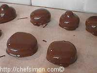 Enrobage chocolat - Etape 7
