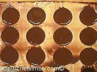 Moulage des chocolats fourrés - Etape 9