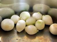 Eplucher les oignons grelots - Etape 5