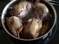 Pigeon en cocotte à la française - Etape 8