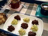 Rocher feuilletine au chocolat