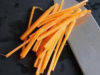Vidéo : Julienne de carotte