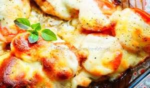 Escalope de poulet au four facile