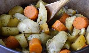 Mijotée de légumes d'hiver