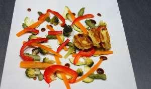 Légumes vapeur sauce balsorange - Simple & Gourmand
