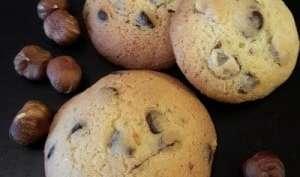 Cookies moelleux chocolat noisette