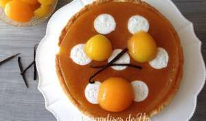 Tarte abricot, vanille et whisky