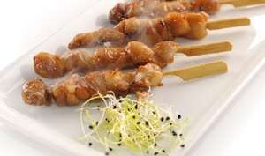 Brochettes de poulet - Yakitori
