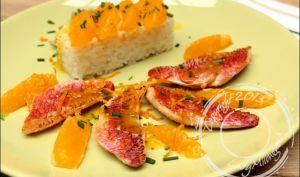 Filets de rouget sauce à l'orange