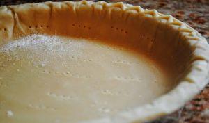 Pâte à tarte au beurre et au fromage à la crème
