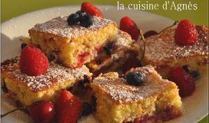 biscuit aux 4 fruits rouges