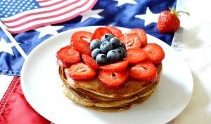 Pancakes américains sains avec 3 ingrédients