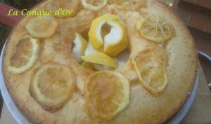 Couronne aux citrons de Sicile
